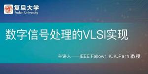 数字信号处理奠基人K.K.Parhi教授,带你探索数字信号处理的VLSI实现